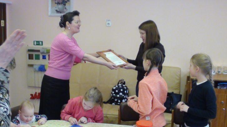 Школьники-волонтеры и Центр реабилитации инвалидов